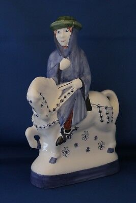 Fantastic Rye Pottery Canterbury Tales Figure The Monk