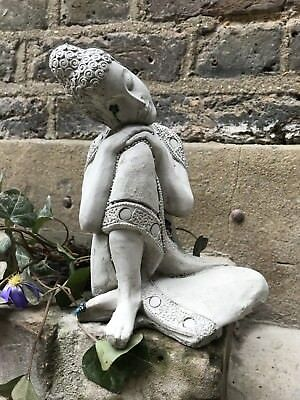 Divine Kneeling Buddhas Statue For The Home Or Garden. From The Designer Sius