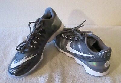 97f5bb0c4a872 NEW Nike CJ3 Flyweave Trainer Detroit Lions Mens Shoes 9 Wolf Grey White   160