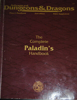 AD&D / Advanced Dungeons & Dragons 2nd Edition Alles über den Paladin