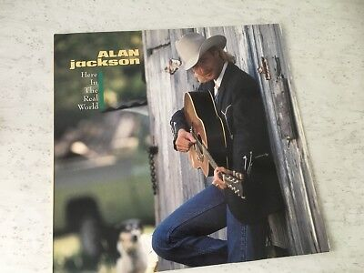 LP - Alan Jackson - Here In The Real World - Arista 210817