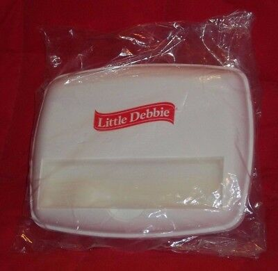 Little Debbie Lunch Container With Plastic Silver Wear