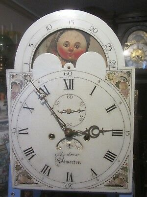 8 Day.dial& Movement By Andrew Of Somerton 12 X 17 For Restoration