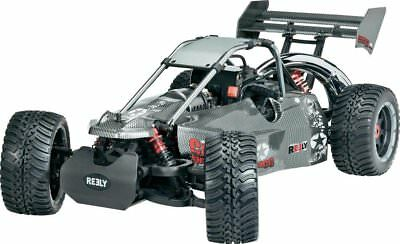 Reely Carbon Fighter III 1:6 RC Modellauto Benzin Buggy RTR inkl. 4WD Umbausatz