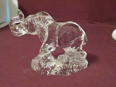 Beautiful Wonders Of The Wild Lead Crystal Elephant Made In Germany