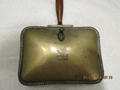 Vintage Butlers Crumb Tray Silver over copper