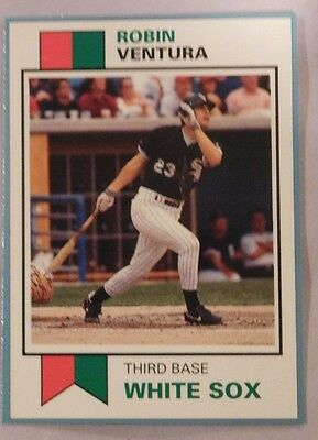 1993 Scd Sports Card Pocket Price Guide Robin Ventura White Sox