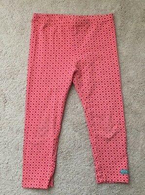 NAARTJIE Kids Boutique Brand Coral Design Capri Leggings - Sz 8 (XXL)