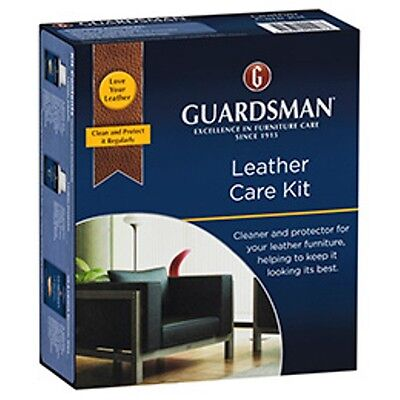 Leather cleaner Guardsman leather care kit cleaning kit for cleaning leather