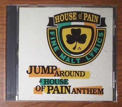 House Of Pain – Jump Around / House Of Pain Anthem (CD, 1992 Tommy Boy) Single