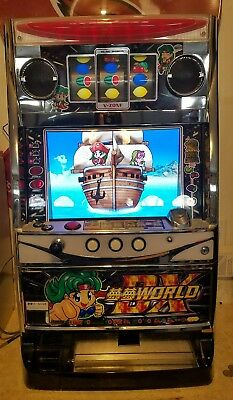 Japanese slot machine DX WORLD Sankyo