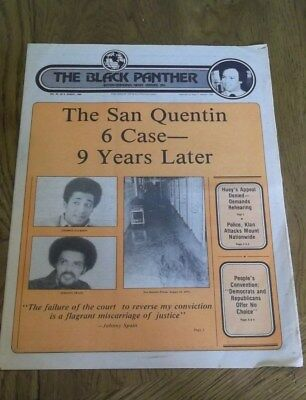 BLACK PANTHER PARTY NEWSPAPER ~ Volume XX,  #8  AUGUST 1980 ~ See Pics!