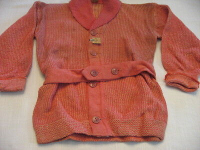 RARE 1930's 40's Vintage Childs sweater   NOS Deadstock .