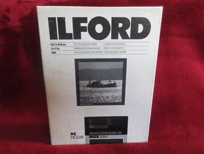 Ilford Multigrade IV RC Deluxe Pearl 5x7 100 Sheets MGD.1M
