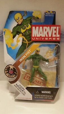 Marvel Universe Series 1 # 017 Iron Fist (Sealed) Black Chest Logo Variant