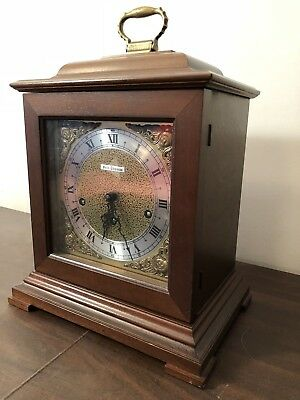 1977 German Built Seth Thomas Mantel Clock In Great Working Condition Chimes