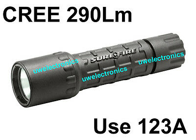 ICR123A Surefire G2 Nitrolon Single Output Extremely WHITE CREE LED Flashlight