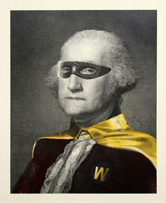 Mr. Brainwash - President's Day Hero - edition of 50 - George Washington IN HAND
