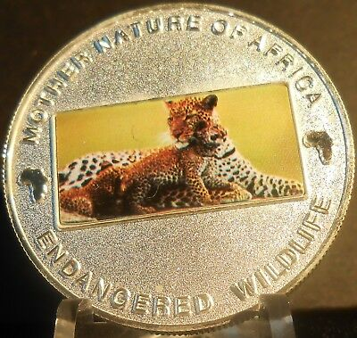 Malawi Mother Nature Of Africa Leopard 2004  10 Kwacha Proof Color Crown