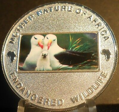 Malawi Mother Nature Of Africa Seagulls  2004  10 Kwacha Proof Color Crown