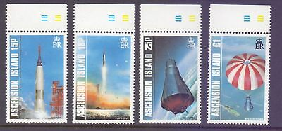 Ascension Island  1987  25th Ann. Manned Space Flight, MNH.