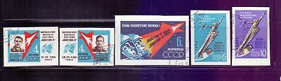 Russia  1962  In Honour of the Conquerors of Space imperf, CTO.