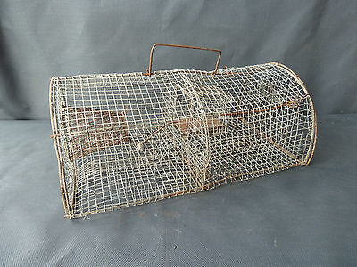 Antique Trap Rodents Metal Tools Vintage Art Farmer French Antique