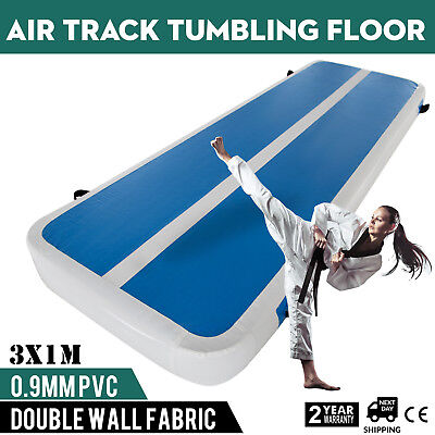 Inflatable Gym Mat Air Tumbling Track Floor Sporting Airtrack Cheerleading