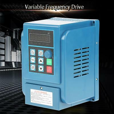 HOT* AC380V 6A 2.2kW Motor Variable Frequency Drive 3-phase VFD Speed Controller