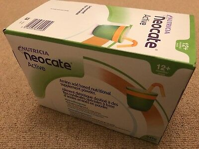 Neocate Active 15x63g Powder Sachets - Unflavoured - New And Unopened