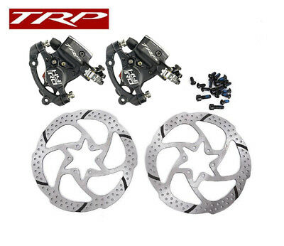 TRP HY/RD Post Mount Cable Actuated Hydraulic Disc Brake Caliper w/ or w/o Rotor
