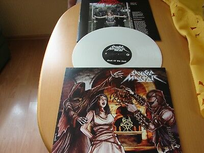Savage Master - Mask Of The Devil -  weisses Vinyl - LP - Female Fronted - Metal