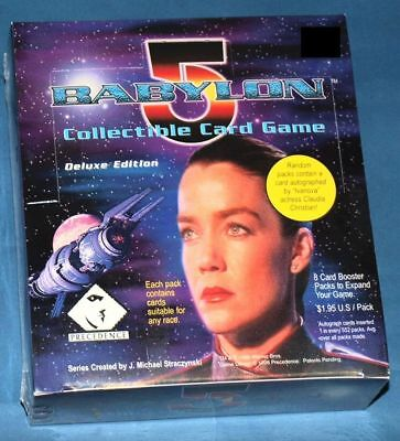 BABYLON 5 CCG: Deluxe Edition Display Box 24 Booster! je 8 Cards! auf englisch!