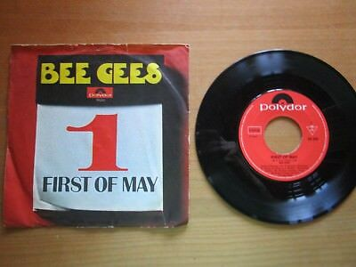 Singel 60er Jahre Bee gees, First of May, Lamplight, Odessa