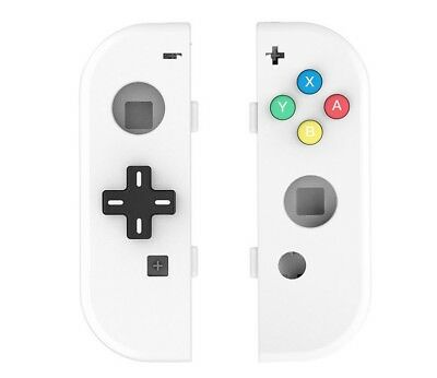 Nintendo Switch Controller Joy-Con Housing Shell Case Replacement D-PAD White