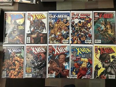 Uncanny X-Men 382-421 (1963 Series) Complete Lot Of 40 Issues, Great Condition