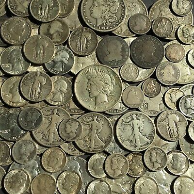 1795 HALF DIME and 1805 DIME and QUARTER in 101 SILVER TYPE COIN LOT