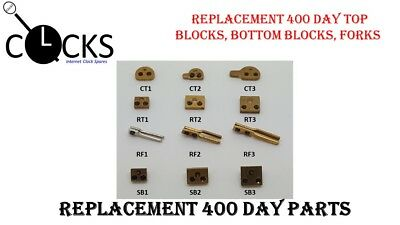 Blocks & Forks, 400 Day Anniversary Torsion, Horolovar- Clock Parts x1 UK Seller