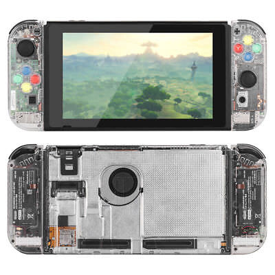 Nintendo Switch Controller Joy-Con Housing Shell Case Replacement FULL Clear