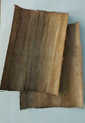 Handmade 100% Egyptian Papyrus Paper Plain Large for Art-Craft Use   30 Sheets