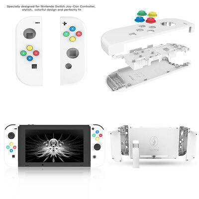Nintendo Switch Controller Joy-Con Housing Shell Case Replacement FULL White
