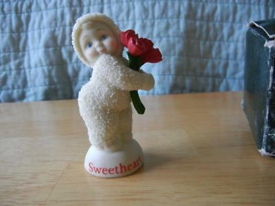 """Dept 56 """"you're A Sweetheart"""" Snowbabies Figurine 2003 New In Box"""