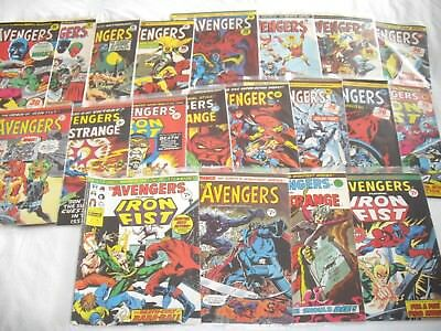 The avengers comic collection 1975 numbers 70 - 89
