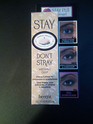 BENEFIT Stay Don't Stray 10ml Medium/Deep, Neu, OVP