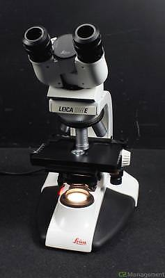 Leica DME Binocular Microscope with 4x HI PLAN Objectives 4x 10x 40x 100x