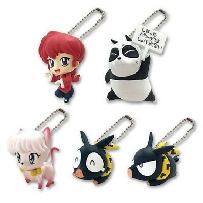 Ranma 1/2 Deformed Figure Keychain (2014) Brand New Factory Sealed Japan Import