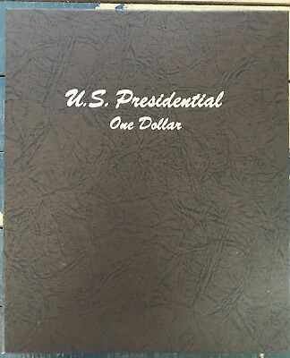 COMPLETE 2007-2016 PRESIDENTIAL $1 COIN SET P & D IN DANSCO BINDER – BU from US