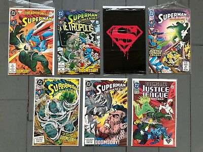 Superman #74, 75 Black Bag, Man of Steel #18, 19 And More All VF-NM Doomsday