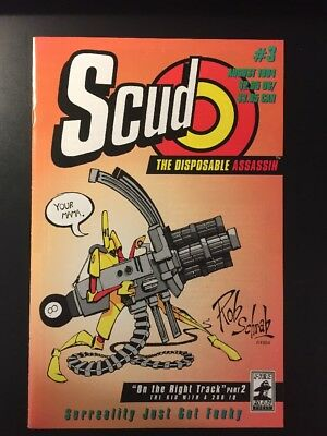 Scud The Disposable Assassin #3, #4, #5 VF/VF+