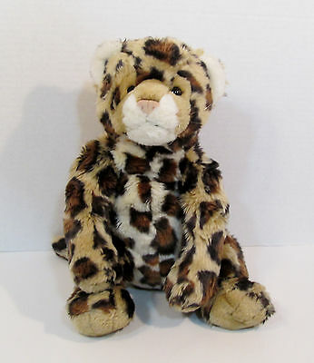 "16"" Build-A-Bear Workshop BABW Plush Spotted Leopard- Stuffed Animal 3+"